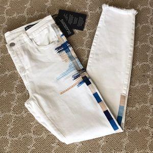 NWT Blanknyc white denim jeans size 26